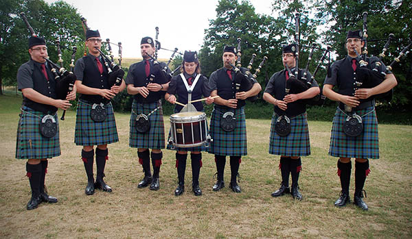 Odenwald Pipes and Drums - Mini Band