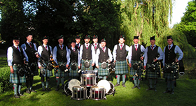 Odenwald Pipes and Drums - 2008