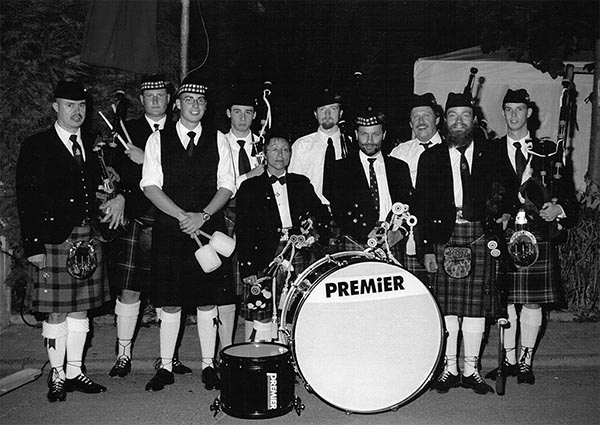 Odenwald Pipes and Drums - 1990